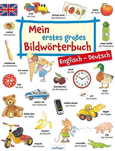 Mein erstes großes Bildwörterbuch – Englisch/Deutsch